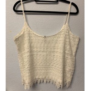 Lace Tank Top Divided